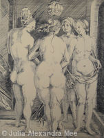 The Four Witches (after Durer)