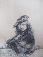 Autoritratto (dopo Rembrandt)