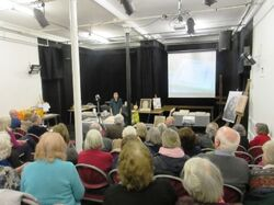 Talk and Demonstration on the Technique of Fresco Painting - Holyrood Art Club, Edinburgh, 2016