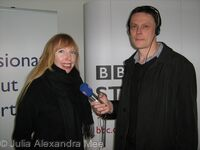 BBC interview with reporter Stuart Fear, 2010