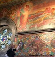 'The Awakening' by Phoebe Anna Traquair at the Mansfield Traquair Centre, Edinburgh.  © Mansfield Traquair Trust. All rights reserved.