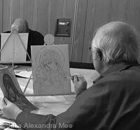 Five Week Buon Fresco Course, Riddle's Court, Edinburgh, 2017