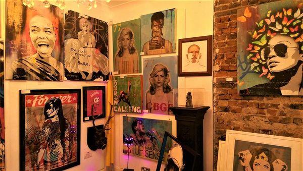 mr ben @ 77art gallery