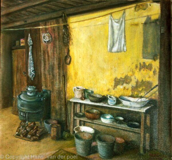 Old dutch farm k;itchen