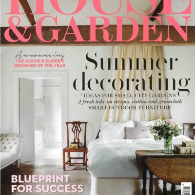 House & Garden Cover July 2018