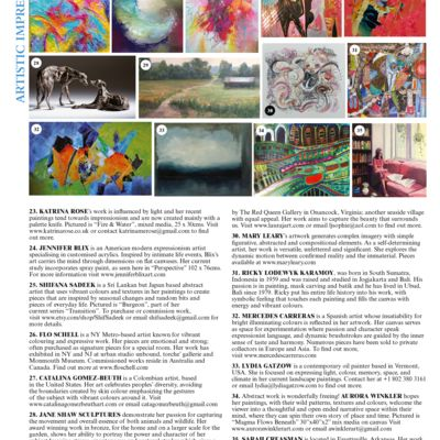 World of Interiors Artistic Impressions August 2018