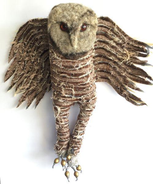 Mr.Flannagan O'Terrorclaw textile owl