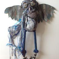 Lord Seamore Knitbone textile sculpture