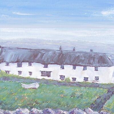 Fishermens' Cottages by Porlock Wier