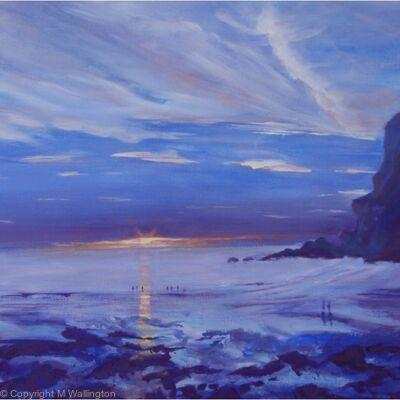 Watching the Sunset, North Cornwall