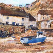 Cadgwith Cove Harbour, Cornwall