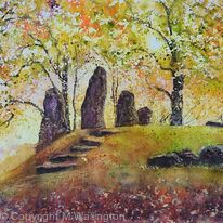 Autumn at Wayland Smithy