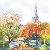 Autumn View from Bridge St, Abingdon