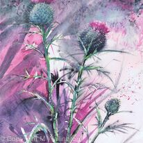Inky Thistles