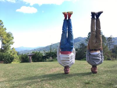 Northern Thailand Headstand