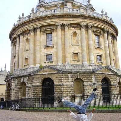 Oxford's Bodlien library
