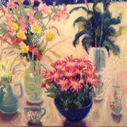Pink daisies, Alstroemeria,