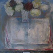 Joans vase, hydrangeas