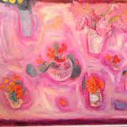 Pink, nasturtiums