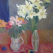 Lilies,alstroemeria