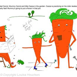 The Carrots Outside