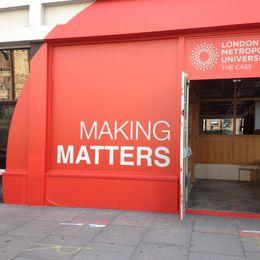 Mking Matters London Design Festival