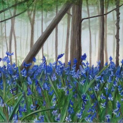 Batchwood bluebells