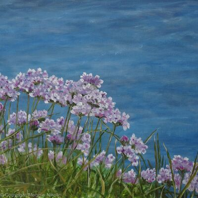 Guernsey sea flowers