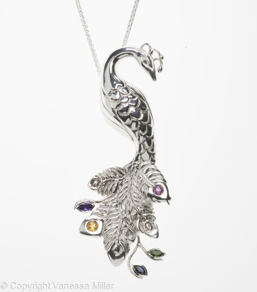 Peacock:Elegance Pendant