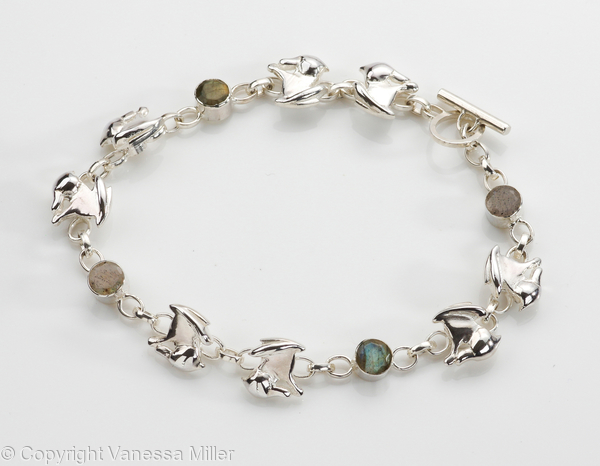 Moon Gazing Little Hare Bracelet