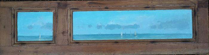 boats on door