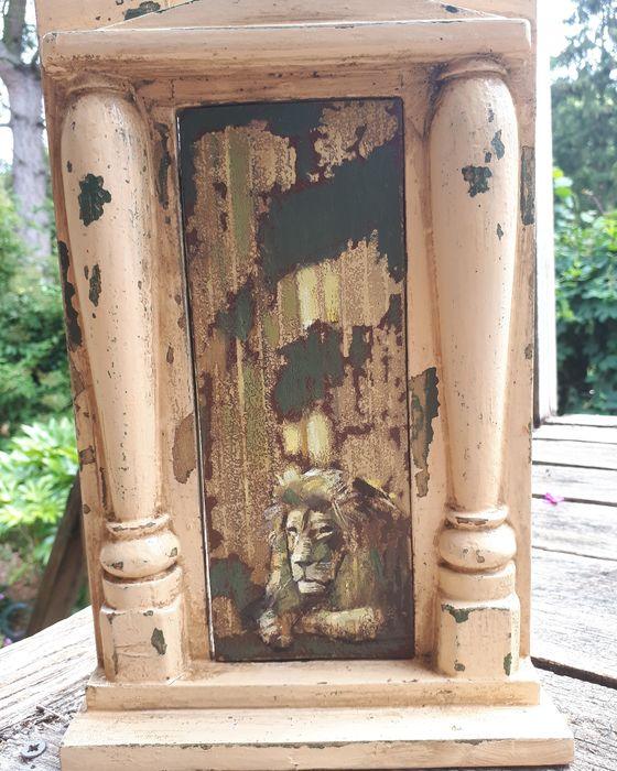 Narnia  (through the door )