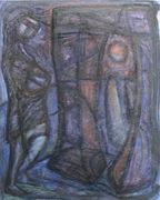Woman Standing on Threshold