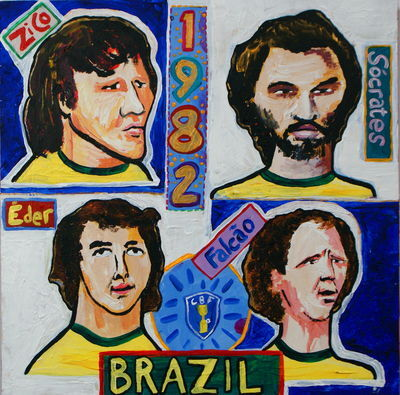Inevitably The Best Team of All Time Has To Have Not Won The World Cup: Brazil 82