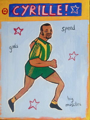 Goals, Speed, Big Muscles – Cyrille Regis
