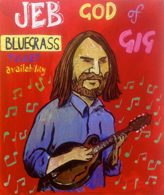Jeb, God of Bluegrass Gig Ticket Availability