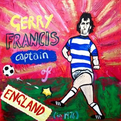 Gerry Francis - Captain of England (in 1976)