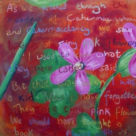 Doolin Flower Painting No. 2 - Universe In A Flower At Cahermacclancy