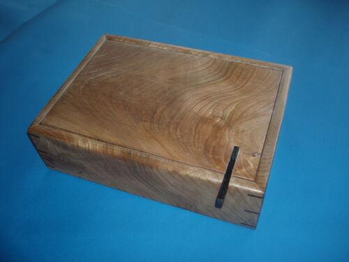 Figured Elm Jewellery Box