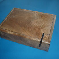 Figured Elm Jewellery Box