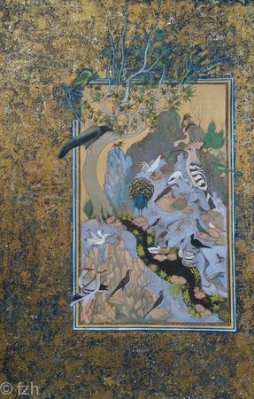 Conference of Birds - recreation of a 17th century Mughal Painting