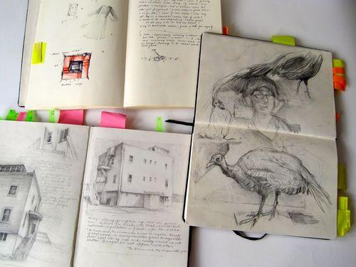 sketchbooks' data