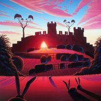 Warwick Castle - the Mound