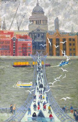 Millenium Bridge from Tate Modern
