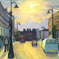 Delancey Street evening