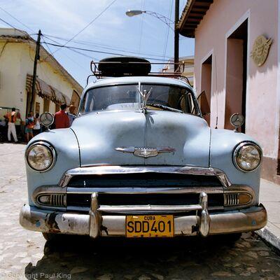 Trinidad Cuba Car