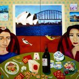 A Beautiful Day in Sydney (diptych)