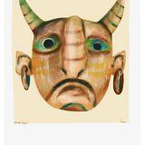 Burmese demon mask