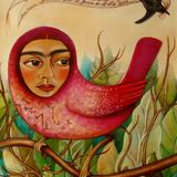 Kahlo Bird II