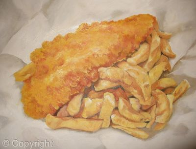 how to make fish and chips at home